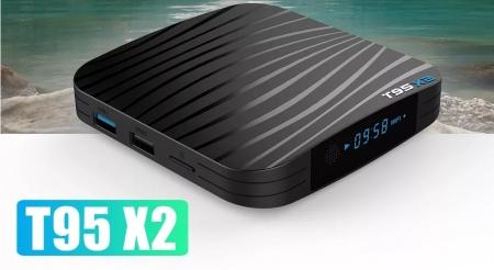 T95X2 Mediaplayer Smart TV Box  2 GB si 16 GB RAM miniPC Android 8.14