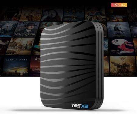T95X2 Mediaplayer Smart TV Box  2 GB si 16 GB RAM miniPC Android 8.15