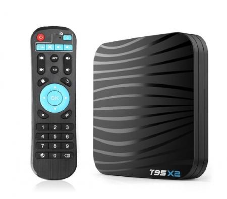 T95X2 Mediaplayer Smart TV Box  2 GB si 16 GB RAM miniPC Android 8.12