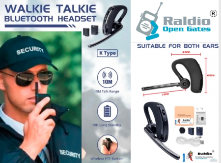 RALDIO - Set Bluetooth pentru Statii emisie receptie mufa K0