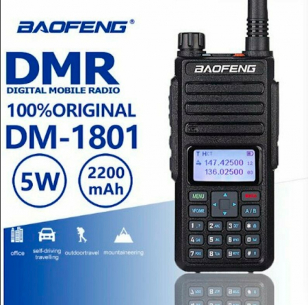 Statie radio digitala Baofeng DM - 1801  Bonus Cablu si CD programare [1]