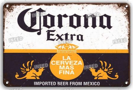 Placa metalica 20x30 Corona [0]