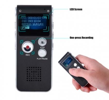 S012 - reportofon 8GB microfon spion acumulator propriu 250 mAh [3]