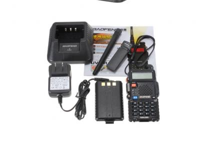 Statie Radio Walkie Talkie Baofeng UV-5R Dual Band Transceiver2