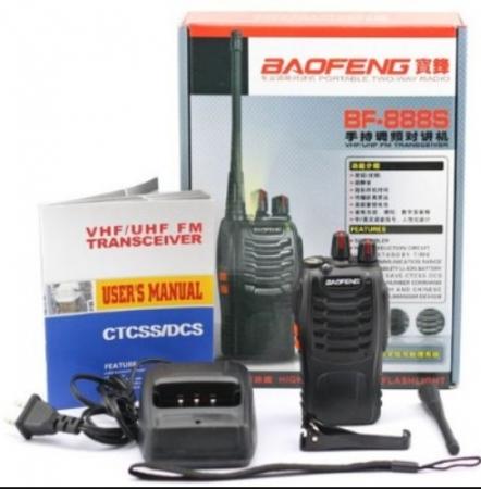 Set 10 buc Baofeng BF-888S cu 20 acumulatori 1500 mAh + Bonus Cablu+CD programare1
