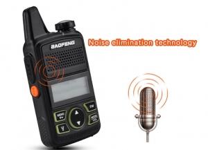 Statie radio Mini Walkie Talkie BF-T1, 20 canale UHF, radio FM  63 MHz - 108 MHZ3