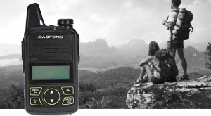Statie radio Mini Walkie Talkie BF-T1, 20 canale UHF, radio FM  63 MHz - 108 MHZ5