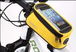 Borseta frontala ROSWHEEL bicicleta galben, mountain bike ptr Focus, Merida, Giant0