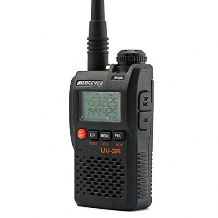 Statie radio Baofeng UV-3R mini Walkie Talkie , FM tranciever, 99 CH, dual band VHF, UHF radio FM0