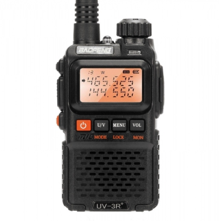 Statie radio Baofeng UV-3R+, Dual Band UHF, VHF, Walkie Talkie , FM tranciever, 99 CH, radio FM 88 - 108 MHz3