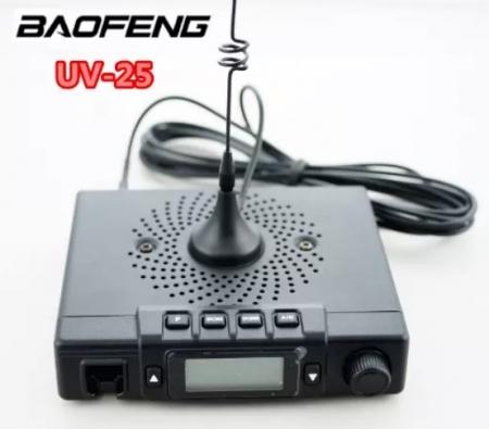 Statie radio mobila  emisie receptie  15W  reglabila Baofeng UV-25; 136 -174 Mhz , 400- 480 Mhz1
