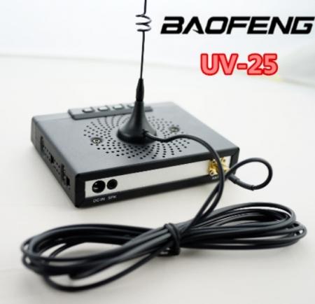 Statie radio mobila  emisie receptie  15W  reglabila Baofeng UV-25; 136 -174 Mhz , 400- 480 Mhz2