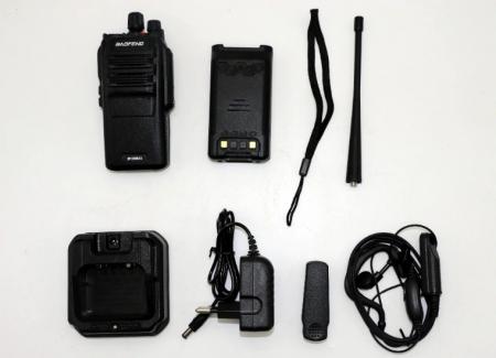 Statie radio Baofeng BF- S56MAX UHF band 10 W , radio FM , IP573