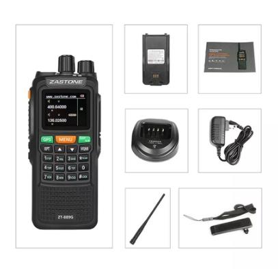 Statie radio emisie receptie profesionala 10W  ZT-889G duplex GPS repetor3
