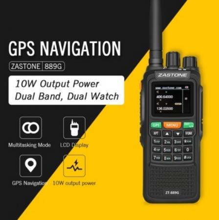 Statie radio emisie receptie profesionala 10W  ZT-889G duplex GPS repetor0