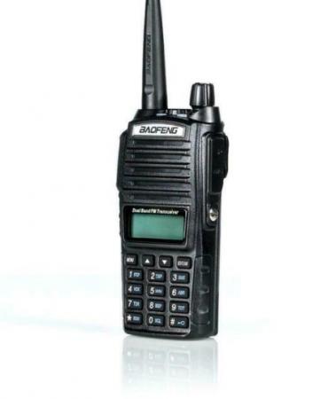 Statie  Baofeng UV-82 8WDual Band Transceiver 8W 128 canale , Radio FM5