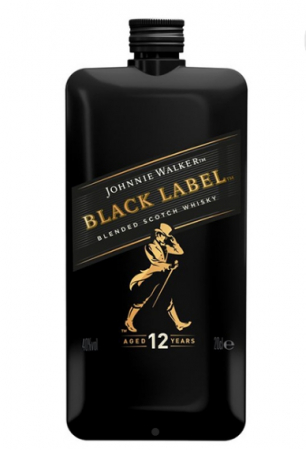 Johnnie Walker Black Label 12 ani Pocket 0.2L