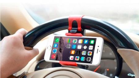 Suport Universal Telefon pentru Volan deschidere 55-80 cm2