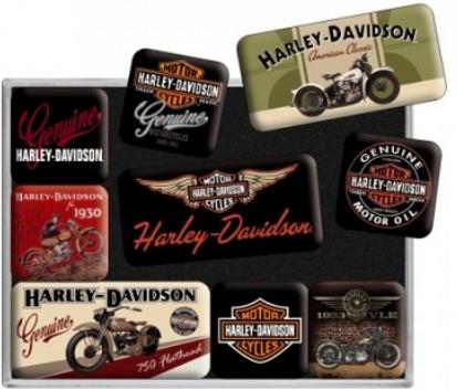 Raldio - Set Cadou Nostalgic - Harley Davidson 12