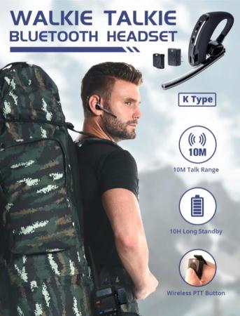 RALDIO - Set Bluetooth pentru Statii emisie receptie mufa K8