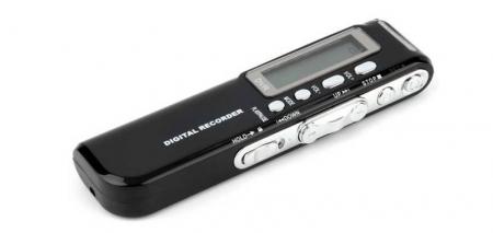 Raldio Microfon spion - reportofon digital 8GB, mp3player1