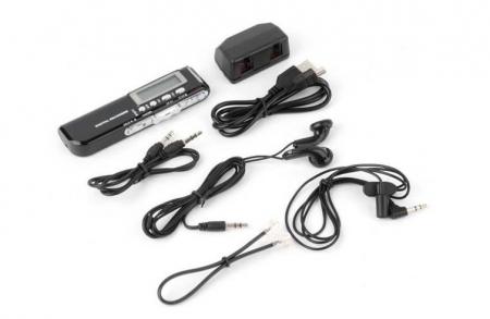 Raldio Microfon spion - reportofon digital 8GB, mp3player3