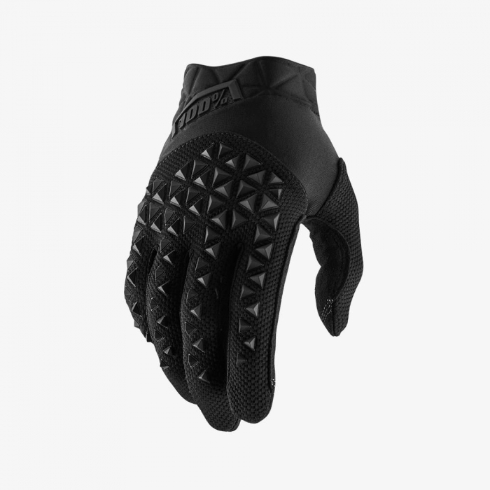 AIRMATIC Black/Charcoal Gloves [1]