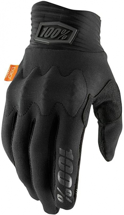 COGNITO Black/Charcoal Gloves [2]