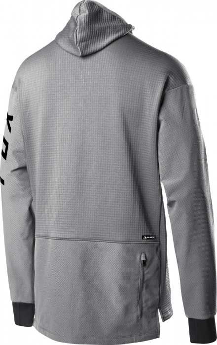 DEFEND THERMO HOODED JERSEY [STL GRY] [1]