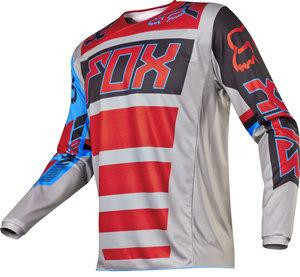 MX-JERSEY 180 FALCON JERSEY GREY/RED [0]