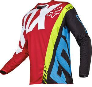 MX-JERSEY 360 CREO JERSEY RED [0]
