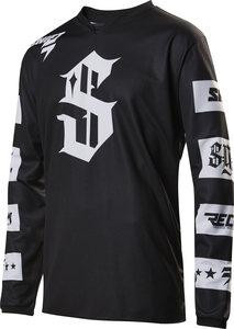 MX-JERSEY RECON CHECKERS JERSEY BLACK [0]