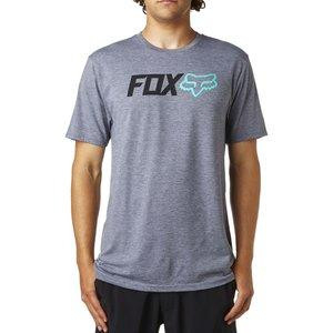 OBSESSED SS TECH TEE HEATHER GRAPHITE [0]