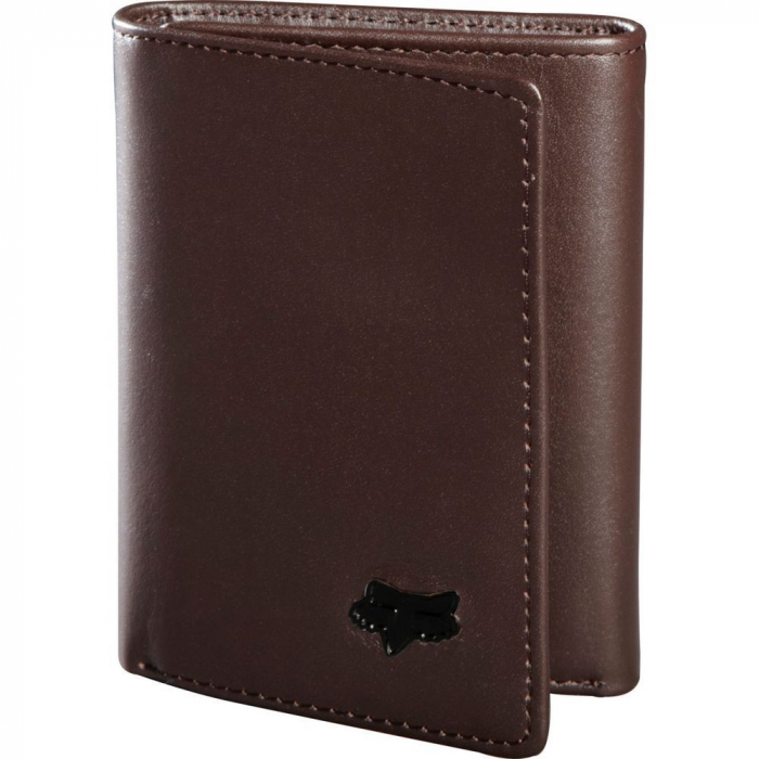 TRIFOLD LEATHER WALLET [BRN] [0]