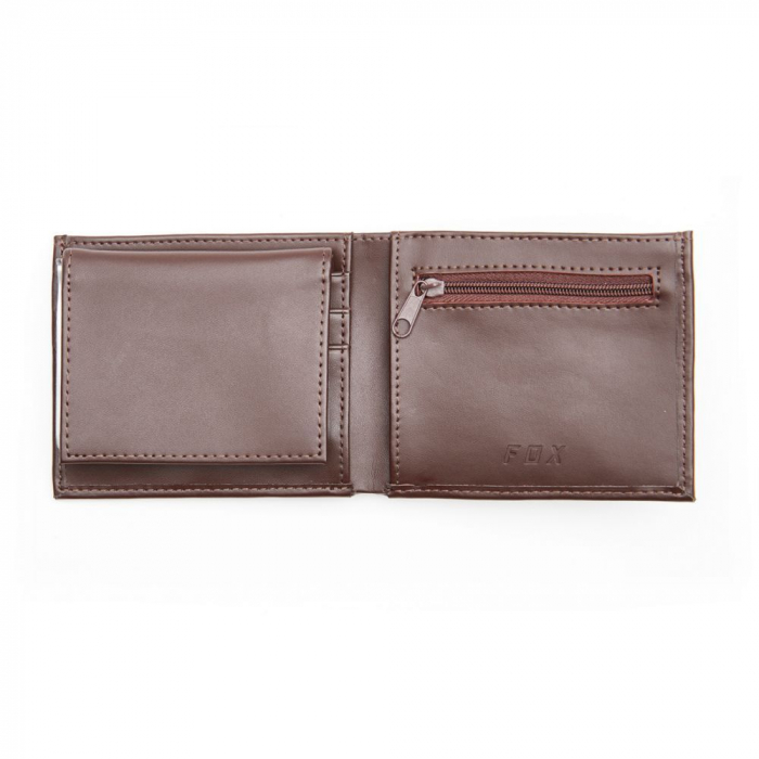 TRIFOLD LEATHER WALLET [BRN] [3]