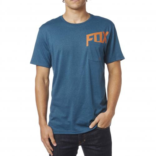 WOUND OUT SS TEE HEATHER M BLUE [0]