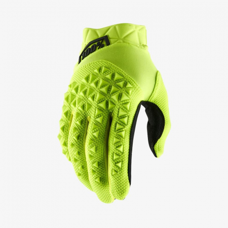 AIRMATIC Fluo Yellow/Black Gloves [0]