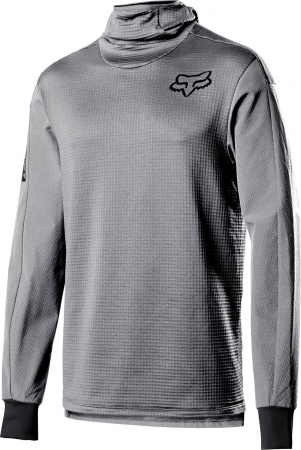 DEFEND THERMO HOODED JERSEY [STL GRY] [0]