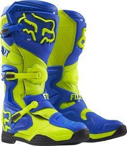 MX-BOOT COMP 8 BOOT-RS BLUE/YELLOW [0]