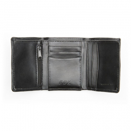TRIFOLD LEATHER WALLET [2]