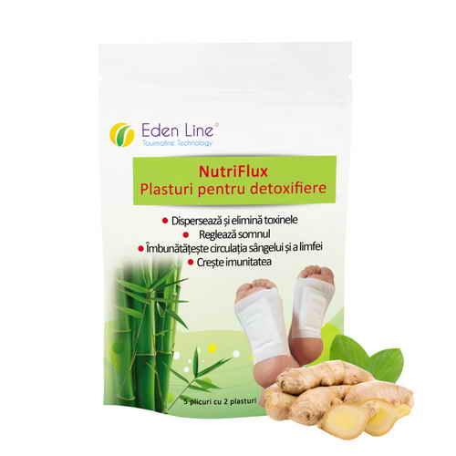 Plasture pentru detoxifiere cu ghimbir Eden Line Energym [0]