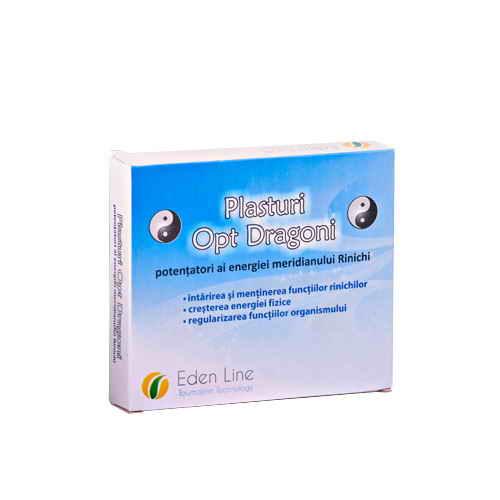 Plasturii Opt Dragoni – potentatori al energiei meridianului Rinichi Eden Line Energym [0]