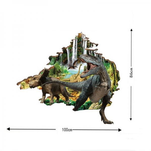 Autocolant 3D - Dinozauri - 100x86 cm 5