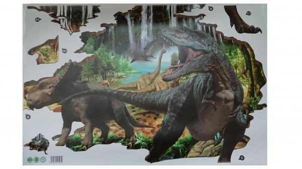 Autocolant 3D - Dinozauri - 100x86 cm 7