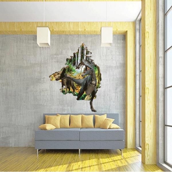 Autocolant 3D - Dinozauri - 100x86 cm 4