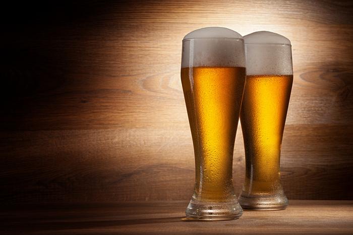 Autocolant bucatarie - Pahare cu Bere [0]