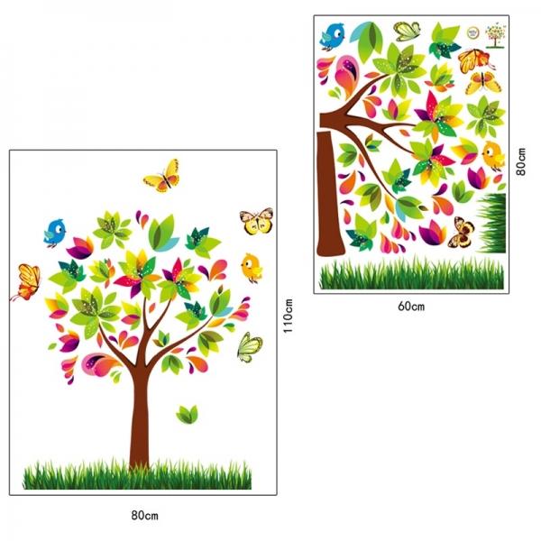 Autocolant de perete pentru copii - Copacelul fermecat 5