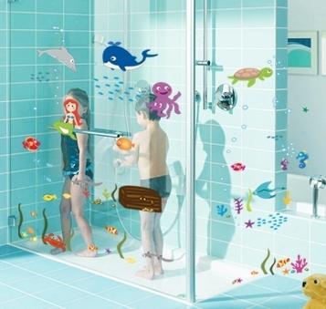 Autocolant decorativ camere copii - Lumea sirenei 1