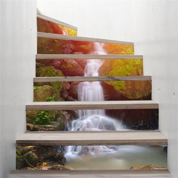 Autocolant scari - Cascada - 6 folii de 18x100 cm 1