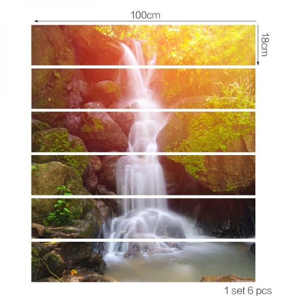 Autocolant scari - Cascada - 6 folii de 18x100 cm 3